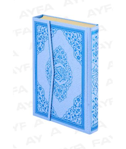 Mühürlü Kuran i Kerim Renk Sert Kapak 4 Renk Çanta Boy Kodu : 063S