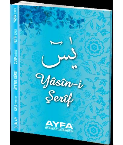 Yasin-i Şerif Türkçeli 80 Sayfa İthal Kağıt Çanta Boy Kodu : 094M