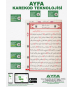 KALEM KURAN I KERİM - 003E - Kalem Kuranı Kerim Cami Boy V 6.1 - AYFA003E - 16GB