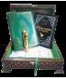 KALEM KURAN I KERİM - TS035 - Ahşap Rahle Boy Kalem Kuranı Kerim Seti V 6.1-16GB- Lüx Ahşap Kutu