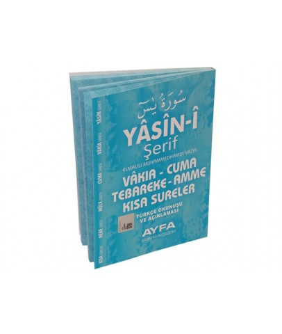 Yasin-i Şerif Türkçeli 128 Sayfa İthal Kağıt Çanta Boy Kodu : 096M